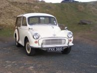 Morris Minor Traveller - 'Allison' SOLD