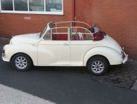 Morris Minor Convertible - 'Amanda' SOLD